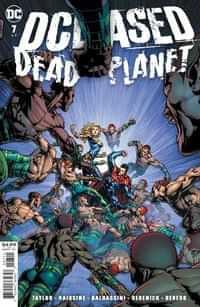 Dceased Dead Planet #7 CVR A David Finch