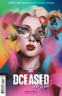 Dceased Dead Planet #7 CVR C Cardstock Ben Oliver Movie Homage