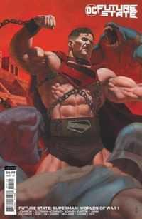 Future State Superman Worlds Of War #1 CVR B Cardstock Riccardo Federici