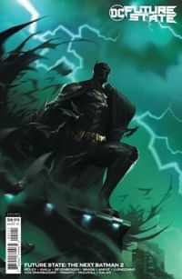 Future State The Next Batman #2 CVR B Cardstock Francesco Mattina