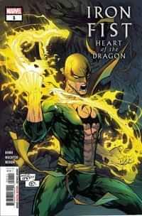Iron Fist Heart Of Dragon #1