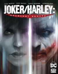 Joker Harley Criminal Sanity #7 CVR A Francesco Mattina