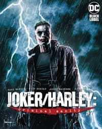 Joker Harley Criminal Sanity #7 CVR B Mico Suayan