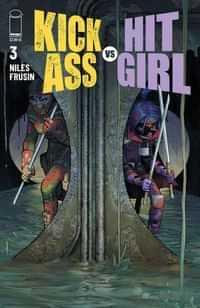 Kick-ass Vs Hit-girl #3 CVR A Romita Jr