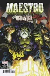 Maestro War And Pax #1 Variant Stegman