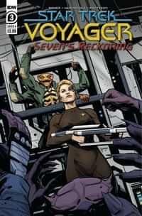 Star Trek Voyager Sevens Reckoning #3 CVR A Hernande