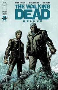 Walking Dead #7 Deluxe Edition CVR A Finch and Mccaig