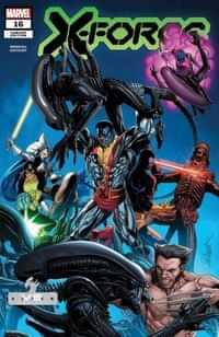 X-force #16 Larroca Marvel Vs Alien