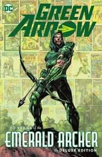 Green Arrow HC 80 Years Of The Emerald Archer The Deluxe Edition