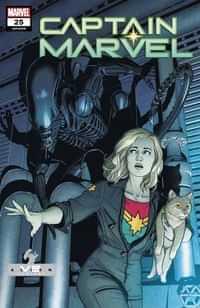 Captain Marvel #25 Variant Mckelvie Marvel Vs Alien