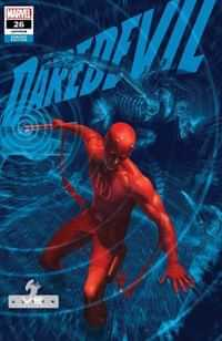 Daredevil #26 Variant Rahzzah Marvel Vs Alien