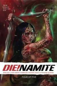 Die!namite #4 CVR A Parrillo