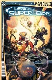 Future State Legion Of Super-heroes #1 CVR A Riley Rossmo