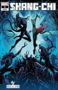 Shang-chi #5 Variant Coello Marvel Vs Alien