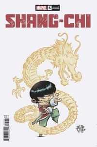 Shang-chi #5 Variant Young