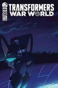 Transformers #27 CVR B Red Powell