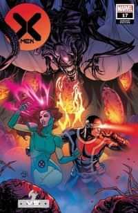 X-Men #17 Variant Dauterman Marvel Vs Alien