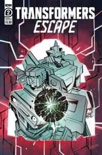 Transformers Escape #2 CVR A Mcguire-smith