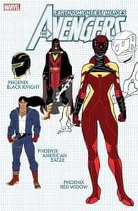 Avengers #42 Variant 10 Copy Garron Design