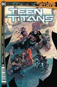 Future State Teen Titans #2 CVR A Rafa Sandoval