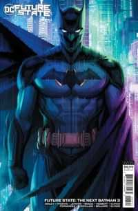 Future State The Next Batman #3 CVR B Cardstock Stanley Artgerm Lau