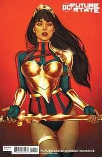 Future State Wonder Woman #2 CVR B Cardstock Jenny Frison
