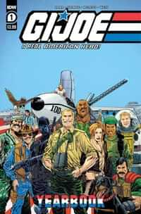 Gi Joe A Real American Hero Yearbook #1