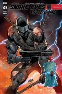 Snake Eyes Deadgame #4 CVR A Liefeld