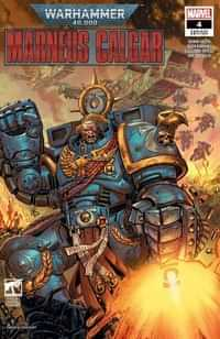 Warhammer 40k Marneus Calgar #4 Variant Luke Ross