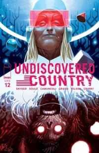 Undiscovered Country #12 CVR B Scalera