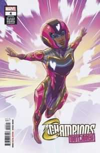 Champions #4 Variant Souza Ironheart Black History Month