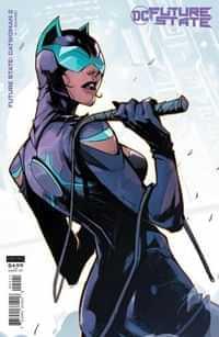 Future State Catwoman #2 CVR B Cardstock Hicham Habchi