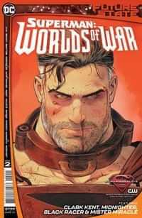 Future State Superman Worlds Of War #2 CVR A Mikel Janin