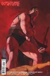 Future State Superman Worlds Of War #2 CVR B Cardstock Riccardo Federici