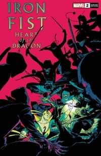 Iron Fist Heart Of Dragon #2 Variant Martin