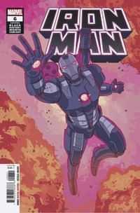 Iron Man #6 Variant Souza War Machine Black History Month