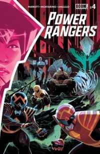 Power Rangers #4 CVR A