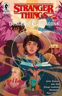 Stranger Things D and D Crossover #4 CVR C Taylor