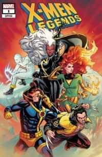 X-men Legends #1 Variant 25 Copy Dauterman