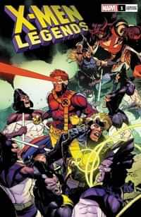X-men Legends #1 Variant 50 Copy Yu