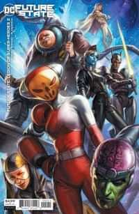 Future State Legion Of Super-heroes #2 CVR B Cardstock Ian Macdonald