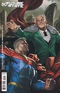 Future State Superman Vs Imperious Lex #2 CVR B Cardstock Skan