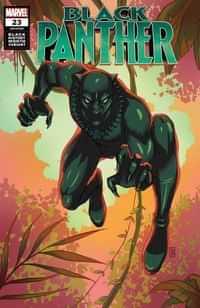 Black Panther #23 Variant Souza Black Panther Black History