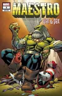 Maestro War And Pax #2 Variant Pacheco Var