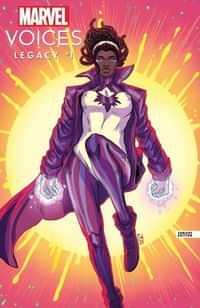 Marvels Voices Legacy #1 Variant Souza