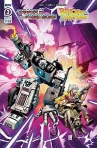 Transformers Back To Future #3 CVR A Juan Samu