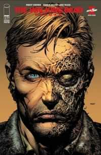 Walking Dead #1 Deluxe Edition Second Printing