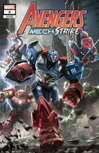Avengers Mech Strike #2 Variant Sng