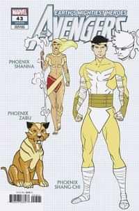 Avengers #43 Variant 10 Copy Garron Design