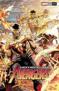 Avengers #43 Variant Weaver Connecting